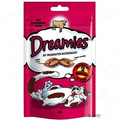Dreamies przysmaki dla kota - Kurczak, 60 g