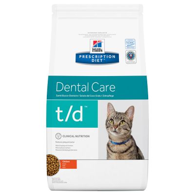 Hill's Prescription Diet Feline t/d Dental Care - kana - 1,5 kg