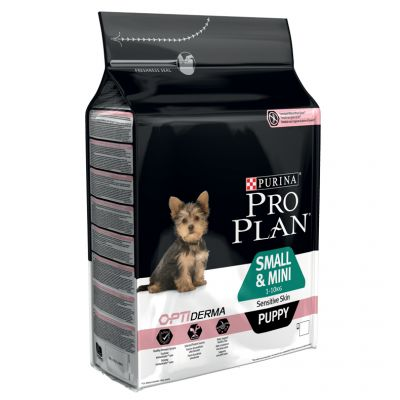 Pro Plan Small & Mini Puppy Sensitive Skin OPTIDERMA - 3 kg