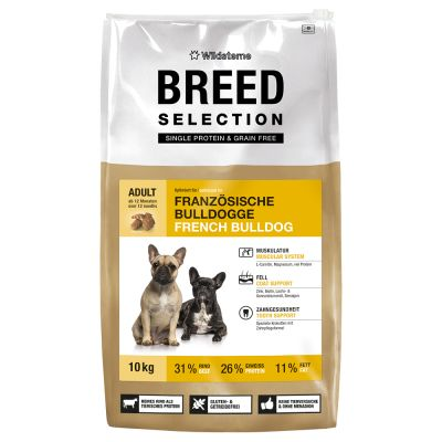 Wildsterne Breed Selection French Bulldog - säästöpakkaus: 2 x 10 kg
