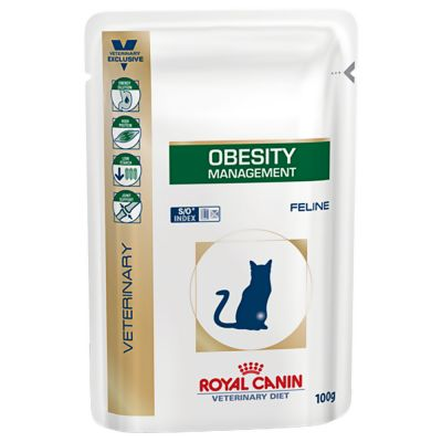 Royal Canin Obesity Management - Veterinary Diet - 24 x 100 g