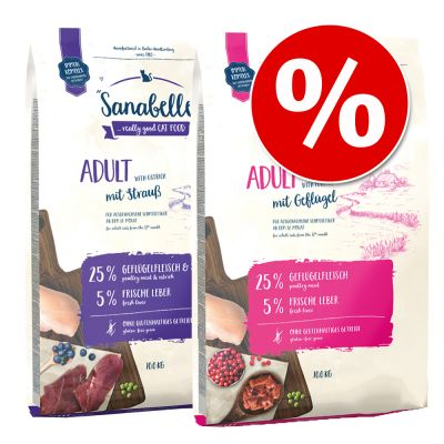 Sanabelle-sekoitus 2 x 10 kg - Sensitive Lamb + No Grain