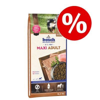 Bosch koiranruoka 15 kg erikoishintaan! - Maxi Adult (15 kg)