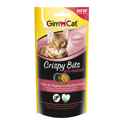 GimCat Crispy Bits Anti-Hairball - 40 g