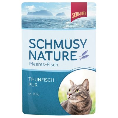 Schmusy Nature Fish – 48 x 100 g tonnikala