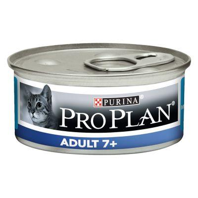 Pro Plan Cat Adult 7+ tonnikala - 24 x 85 g