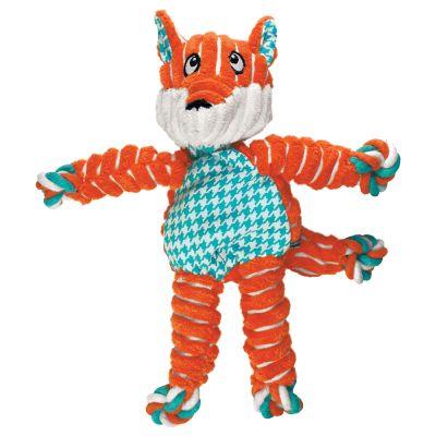 KONG Floppy Knots Fox - koko S/M: P 25 x L 22 x K 15 cm