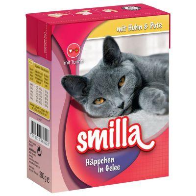 Smilla Chunks in Jelly 6 x 380 g - lajitelma, kolme makua