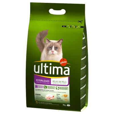 Ultima Cat Sterilized Hairball - 3 kg