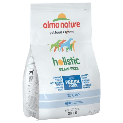 Almo Nature Holistic Grain Free Small - Adult Pork & Potatoes - 2 kg
