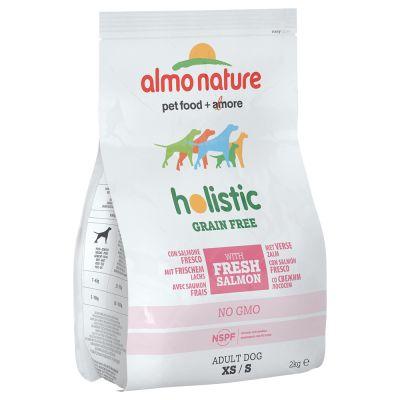 Almo Nature Holistic Grain Free Small – Adult Salmon & Potatoes – 2 kg