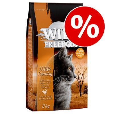 2 kg Wild Freedom kissanruokaa erikoishintaan! - Kitten Wide Country - Poultry