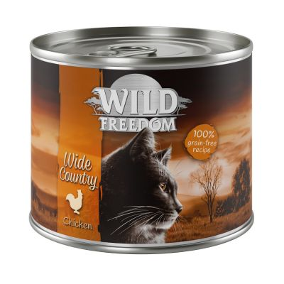 Wild Freedom Adult 6 x 200 g - Deep Forest - peura & kana