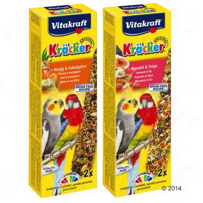 Vitakraft Kräcker för stora parakiter – Mandel & fikon, 2 st