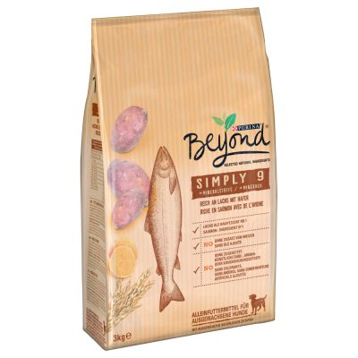 Purina Beyond Simply 9 rico en salmón pienso para perros - 1,4 kg