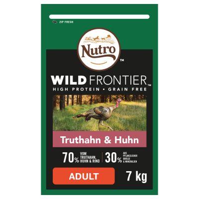 Nutro Wild Frontier Adult Turkey Chicken - 7 kg