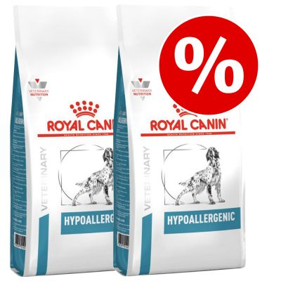 Royal Canin Veterinary Diet -säästöpakkaus - 2 x 14 kg Urinary U/C low purine UUC 18