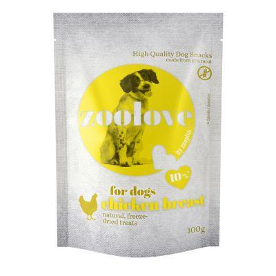 zoolove chicken breast 5 x 100 g