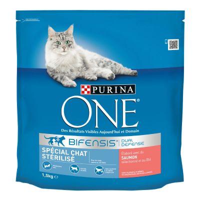 Purina ONE Sterilized Salmon - 1,5 kg
