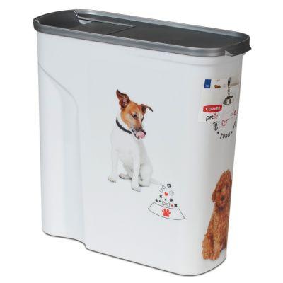 Curver-kuivaruokasäiliö koiralle - alle 20 kg kuivaruokaa