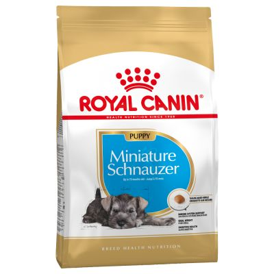 Royal Canin Breed Miniature Schnauzer Puppy - 3 x 1,5 kg