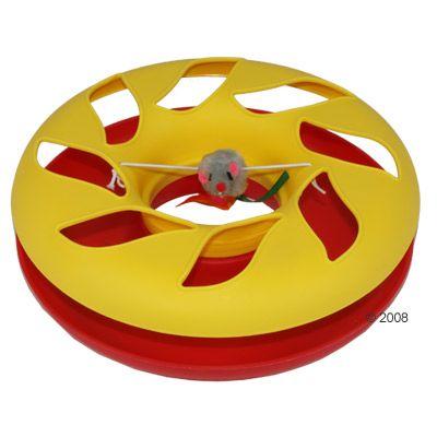 Kattleksak Round About karusell ca 25 cm