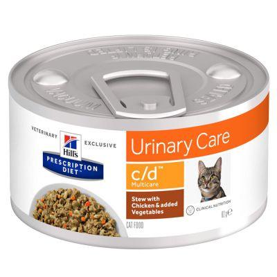 Hill´s Prescription Diet c/d Urinary Care Ragout - kana - 12 x 82 g