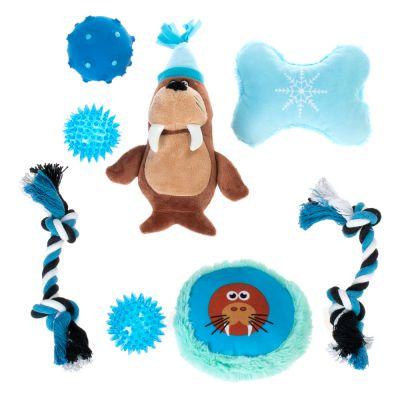8-dílná sada hraček pro psy - 1 set (8 kusů)
