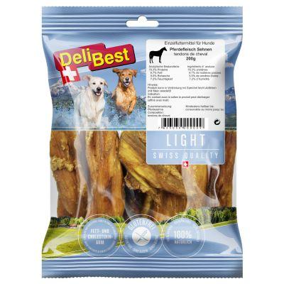 DeliBest Light -hevosenjänteet - säästöpakkaus: 2 x 200 g