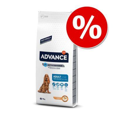 Advance 18 kg Medium y Maxi en formato ahorro - Medium Adult pollo y arroz - 18 kg