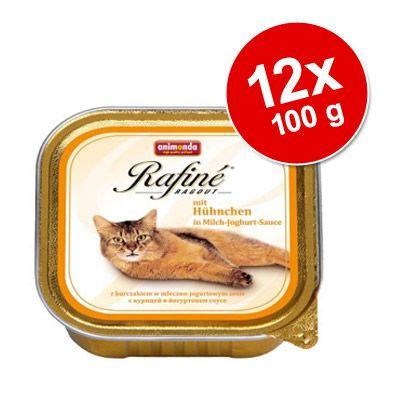 animonda-rafine-ragout-voordeelpakket-12-x-100-g-kip-in-melk-yoghurt-saus
