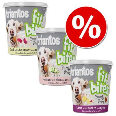"""Briantos """"FitBites"""" -säästöpakkaus 3 x 100 g - Lamb with Potato & Apple"""