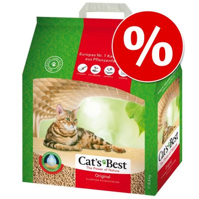 Cat's Best Original -kissanhiekka 5 l kokeiluhintaan! - 5 l (noin 2,25 kg)