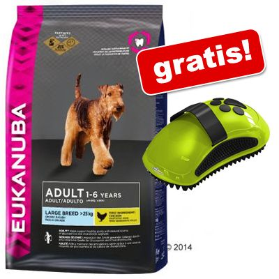 12 - 15 kg Eukanuba hundmat + FURminator massageborste på köpet! - Adult Jogging & Agility (15 kg)
