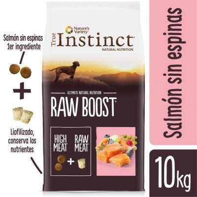 Nature's Variety True Instinct Raw Boost con salmón - 2 x 10 kg - Pack Ahorro