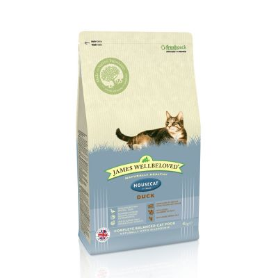 james-wellbeloved-adult-cat-housecat-eend-kattenvoer-15kg