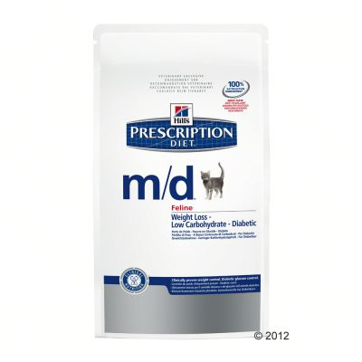 hill-feline-md-prescription-diet-weight-loss-diabetic-dubbelpak-2-x-5-kg