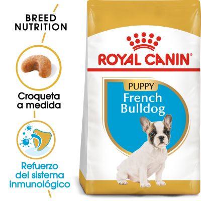 Royal Canin Bulldog Francés Puppy  - 2 x 10 kg - Pack Ahorro