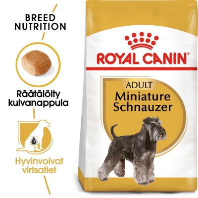 Royal Canin Breed Miniature Schnauzer Adult - 7,5 kg