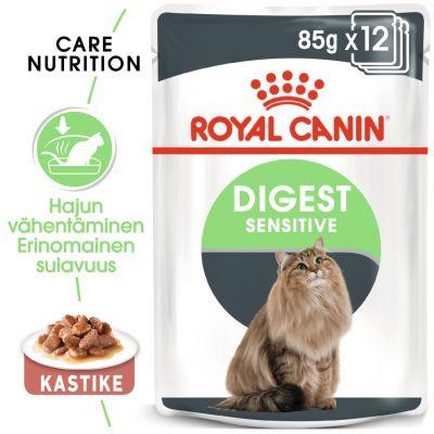 Royal Canin Digest Sensitive in Gravy - 12 x 85 g