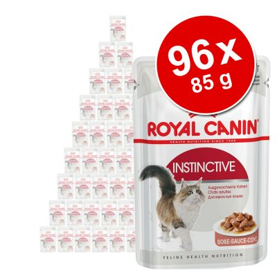 Royal Canin -suursäästöpakkaus 96 x 85 g - Ultra Light in Gravy