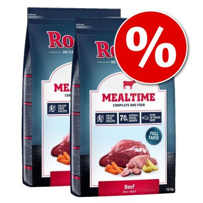 Rocco Mealtime 2 x 12 kg - Pack Ahorro - Pollo