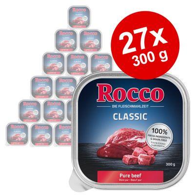 Säästöpakkaus: Rocco Classic -rasiat 27 x 300 g - siipikarjansydän
