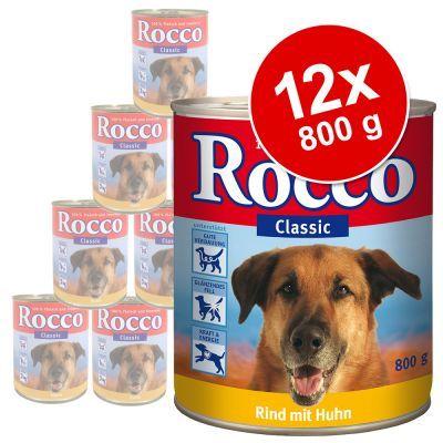 Foto Rocco Classic 12 x 800 g - Manzo Puro