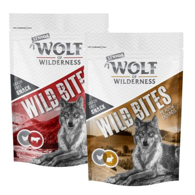 "Wolf of Wilderness Senior Snack ""Wild Bites"" - Mixpaket"
