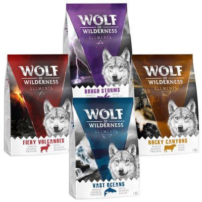 "Wolf of Wilderness Adult ""Elements"" - Mixpaket"