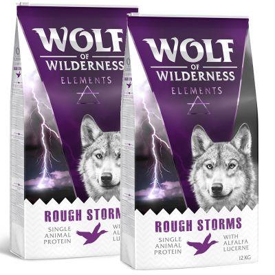 Sparpaket Wolf of Wilderness Elements 2 x 12 kg