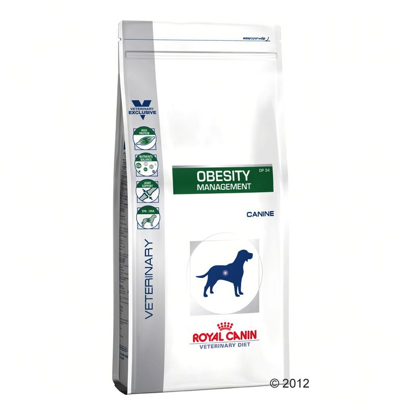 Foto Royal Canin Obesity Management DP 34 Veterinary Diet - 14 kg Royal Canin Veterinary Diet Obesità e sovrappeso