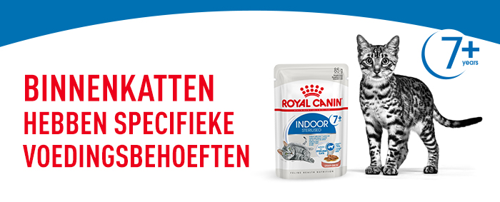 Royal Canin Indoor Sterilised 7+ in Saus