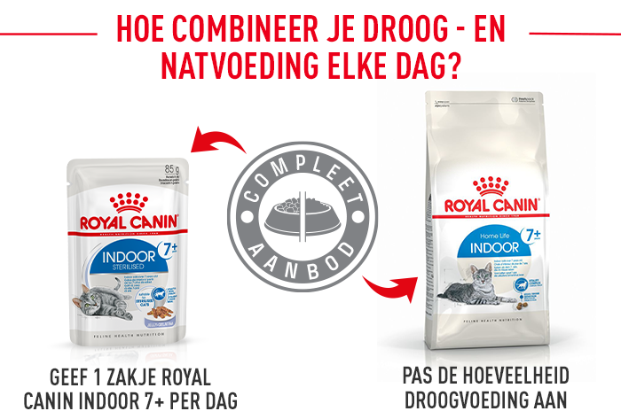Royal Canin Indoor Sterilised 7+ in Gelei
